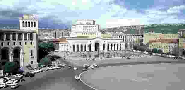 A transição pacífica do poder seguida pela Revolução Velvet já começou a transformar Yerevan, a capital da Armênia - BBC