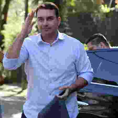 19.jan.2019 - O senador Flávio Bolsonaro (PSL-RJ) - Sergio Moraes/Reuters