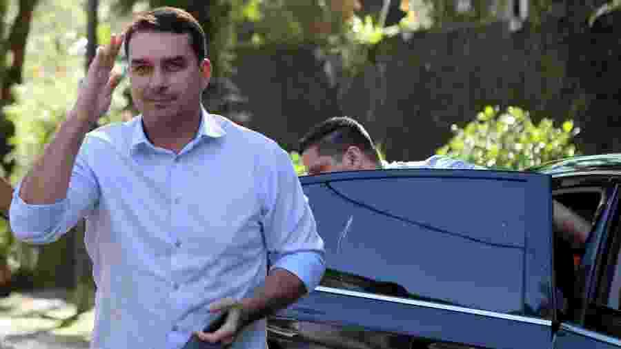 O senador eleito Flávio Bolsonaro (PSL) - Sergio Moraes/Reuters
