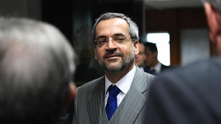 O ministro da Educação, Abraham Weintraub - Pedro França/Agência Senado