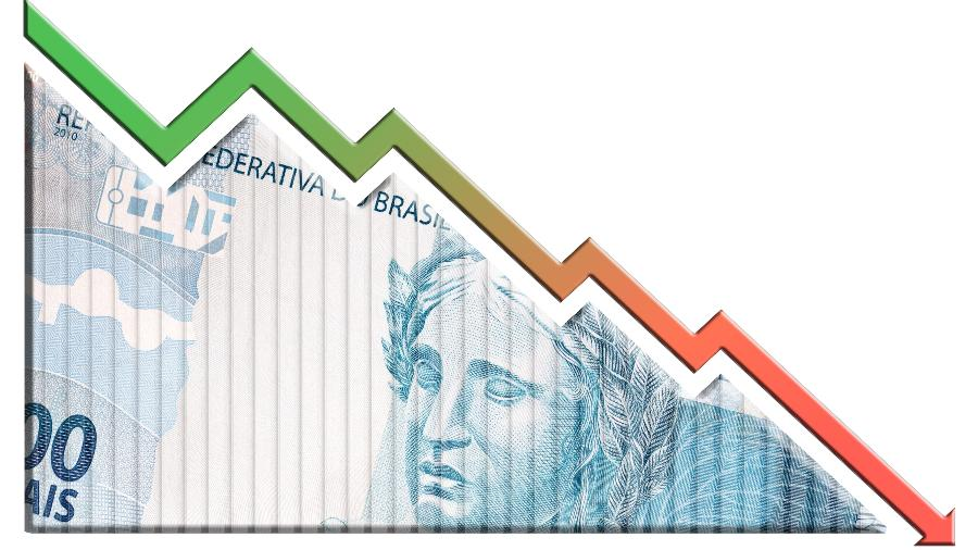 Ilustração para crise financeira - Getty Images/iStockphoto
