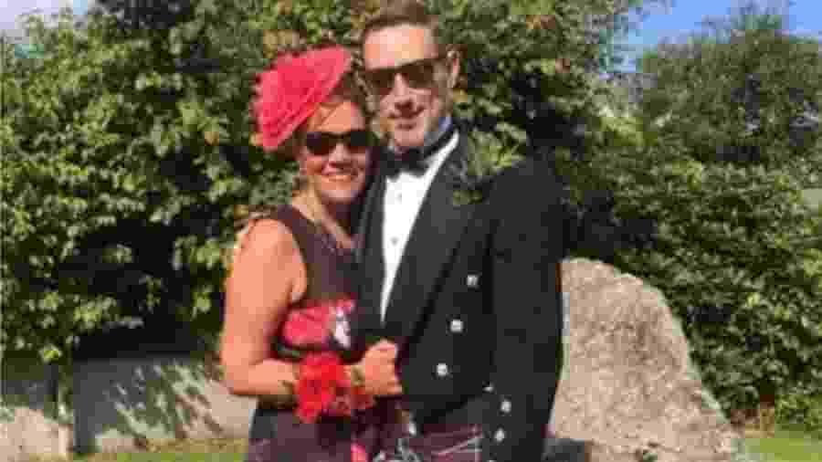 """Suzanne diz que o marido, Owen, tem sido """"incrível"""" - BBC"""