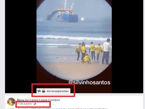 """11.dez.2019 - Post com marca d'água """"Diz não ao paredão"""" - Reprodução/Facebook"""