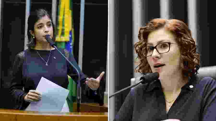 Tabata Amaral e Carla Zambelli - Pablo Valadares/Michel Jesus/Câmara dos Deputados