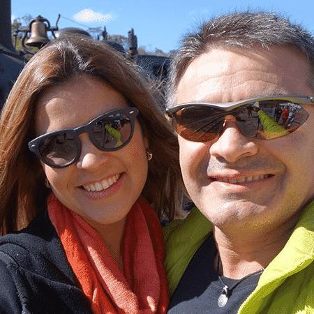 O administrador Rosier Saraiva Filho e sua mulher não conseguem voltar dos EUA - Reprodução/Instagram