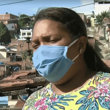 Mirtes Renata Souza, mãe do garoto Miguel - Reprodução/TV Globo - Reprodução/TV Globo