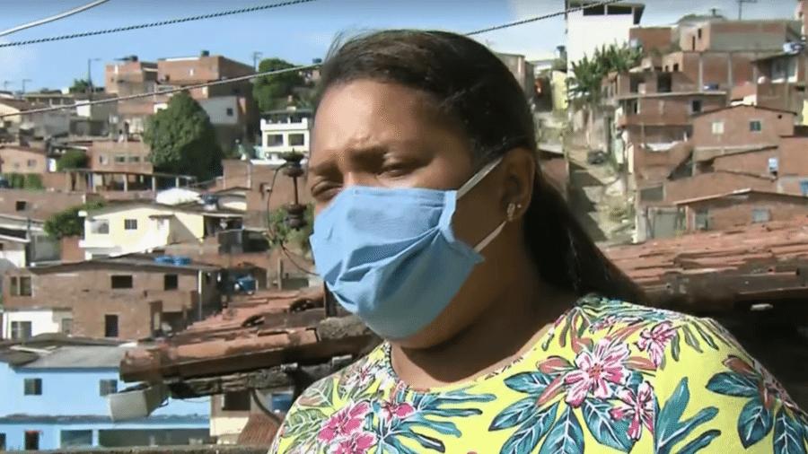 """""""A carta de perdão foi dirigida à imprensa"""", diz Mirtes Renata Souza, mãe do garoto Miguel - Reprodução/TV Globo"""