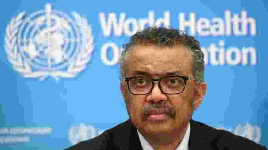 Tedros Adhanom Ghebreyesus advertiu que as divisões mundiais fazem a pandemia prosperar. - Reuters