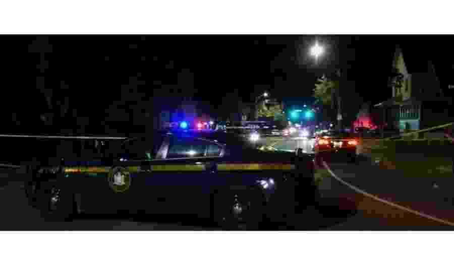 19.set.2020 - Tiroteio em Rochester, em Nova York, mata dois e fere 14 - Reprodução/NBC New York