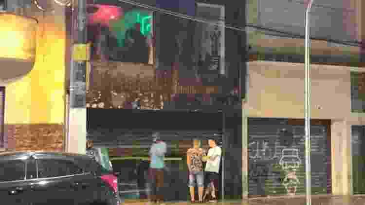 Balada na rua Peixoto Gomide - Arthur Stabile/UOL - Arthur Stabile/UOL