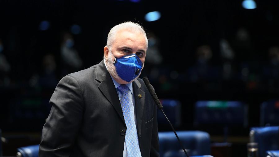 O líder da minoria no Senado, Jean Paul Prates (PT-RN), criticou o patamar de investimentos dos militares do Orçamento de 2021 - Marcos Oliveira/Agência Senado