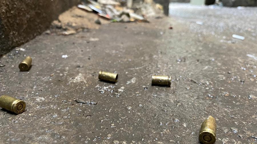 Beco na favela do Jacarezinho após operação; força-tarefa vai investigar as 28 mortes  - Herculano Barreto Filho/UOL