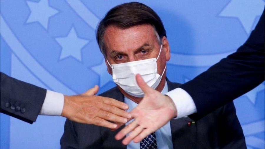 A CPI investiga ações do governo Jair Bolsonaro na gestão da crise causada pela pandemia de covid-19 - Reuters