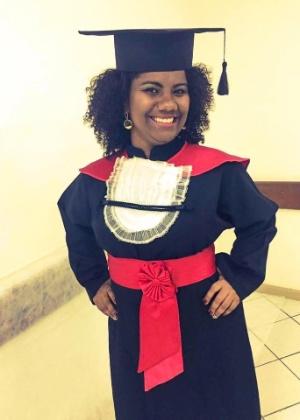 Ana Karla passou na OAB antes mesmo de se formar - Arquivo pessoal