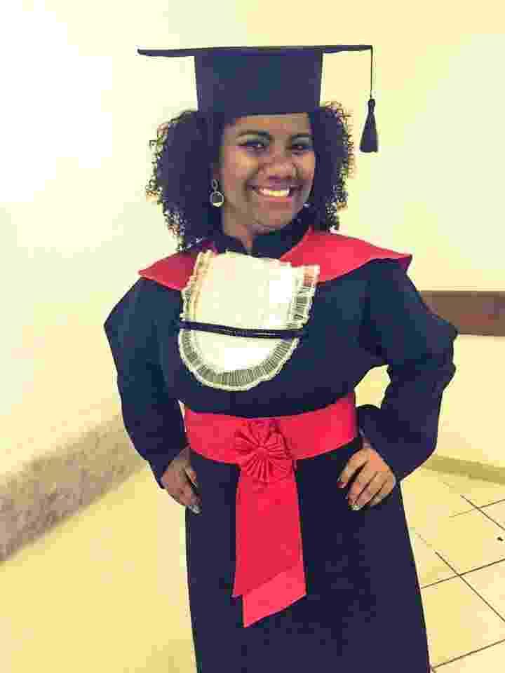 Capixaba que morou em lixão vendeu empada na praia para se tornar advogada, Ana Karla, estudante de direito - Arquivo pessoal