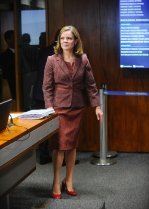 Senadora Gleisi Hoffmann (PT-PR) - Marcos Oliveira/Agência Senado