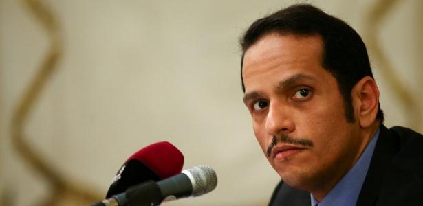 Ministro das Relações Exteriores do Catar, Mohamed ben Abderrahman al-Thani