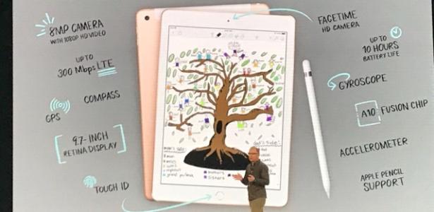 O novo iPad foi pensado para ser usado na escola