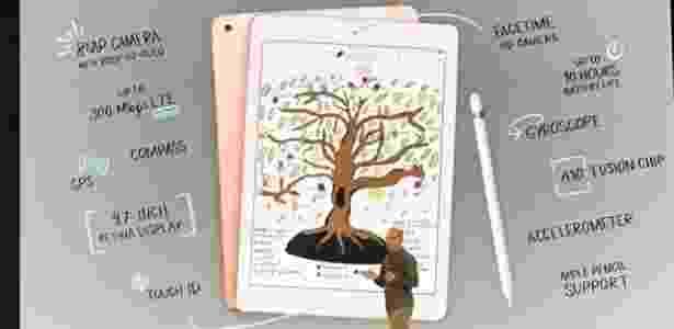 O novo iPad foi pensado para ser usado na escola - Bruna Souza Cruz/UOL