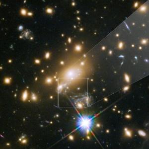 Ícaro foi observada a 9 bilhões de anos-luz da Terra