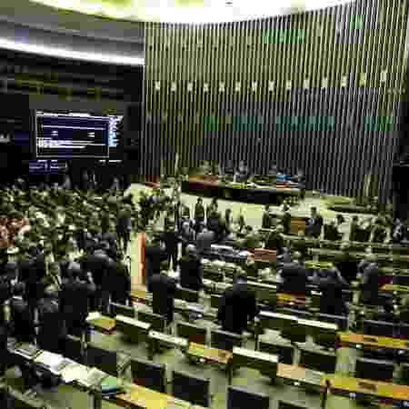 O plenário da Câmara dos Deputados - Fabio Rodrigues Pozzebom/Agência Brasil