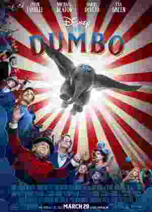 """Versão live-action de """"Dumbo"""" ganha pôster com o elefante em pleno voo - Reprodução/Twitter - Reprodução/Twitter"""