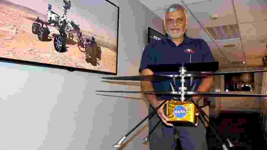 Helicóptero seria rápido o suficiente para explorar o planeta vermelho a partir da visão de um pássaro - EFE/ Iván Mejía