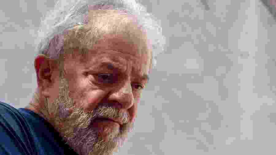 O ex-presidente Lula  - Miguel Schincariol - 7.abr.2018/AFP