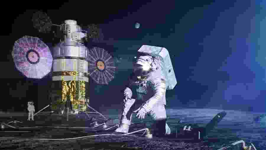 Nase remodelou os trajes espaciais para a nova viagem para a Lua - Divulgação