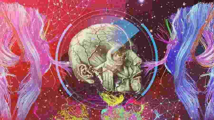 Backup cerebral: veja caminho para criarmos réplica da consciência na nuvem - Marcel Lisboa/Arte UOL