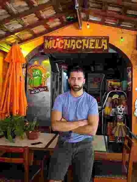Bruno Tavares, dono do restaurante Muchachela - Divulgação