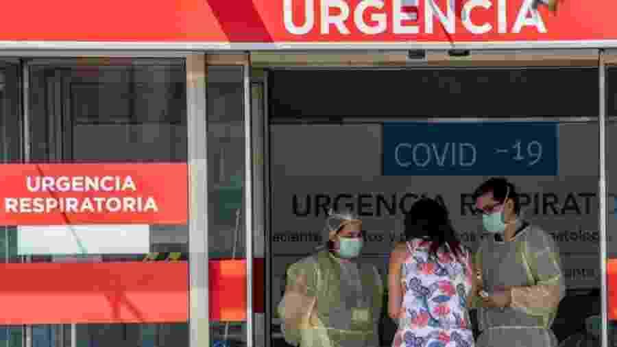 Segundo especialistas, até agora o sistema de saúde chileno tem dado conta - Getty Images via BBC