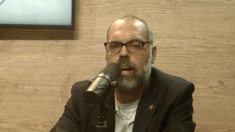 O blogueiro Allan dos Santos é investigado pelo STF - Reprodução/YouTube