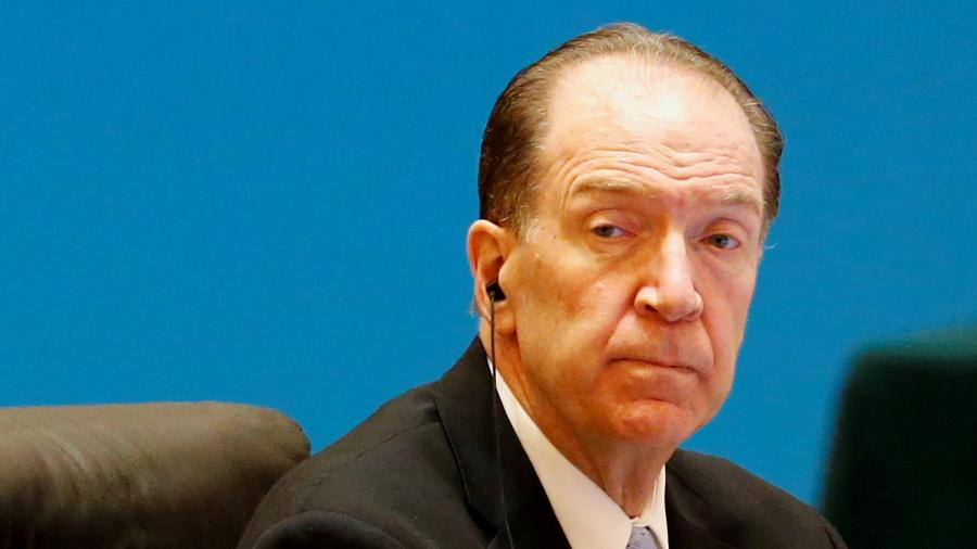 Presidente do Banco Mundial, David Malpass - Florence Lo