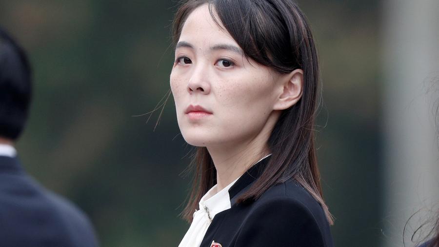 Kim Yo Jong, irmã do líder da Coreia do Norte, Kim Jong Un, em Hanói -
