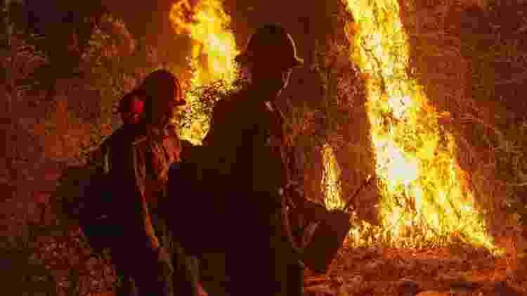 Incêndio na Califórnia - David McNew/Getty Images/AFP - David McNew/Getty Images/AFP