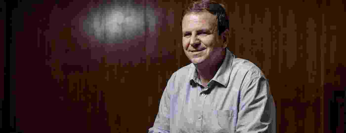 4.dez.2020 - Eduardo Paes (DEM), prefeito eleito do Rio de Janeiro, em entrevista ao UOL - Zô Guimaraes/UOL