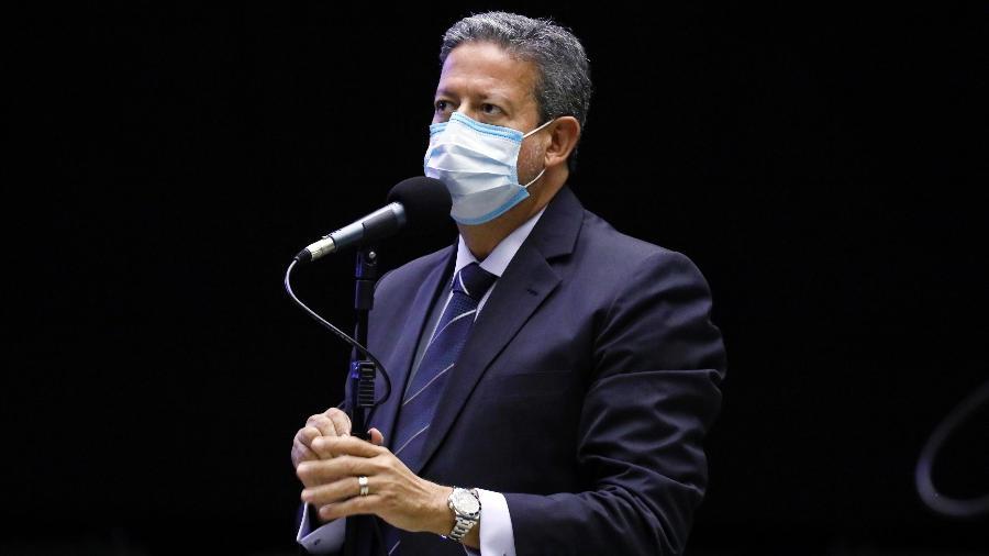 O deputado Arthur Lira (PP-AL) criticou a oposição por apoiar a chapa do atual presidente da Câmara dos Deputados, Rodrigo Maia (DEM-RJ) - Najara Araújo/Câmara dos Deputados