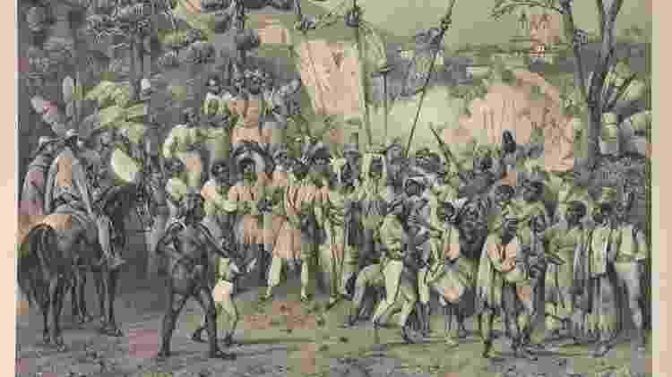 Em 1871, somente os beneditinos tinham um total de 4 mil escravizados - Arquivo Nacional/Domínio Público - Arquivo Nacional/Domínio Público