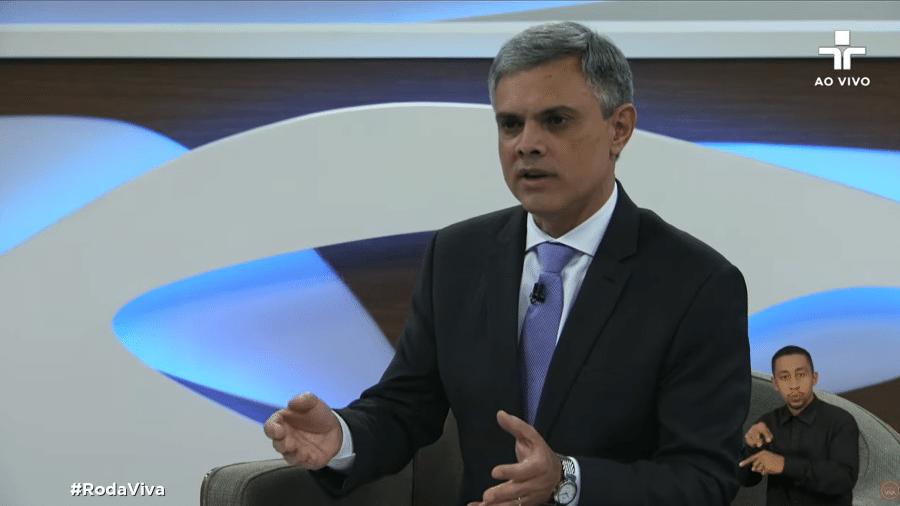 João Paulo Ferreira, CEO global da Natura, no Roda Viva - Reprodução/TV Cultura