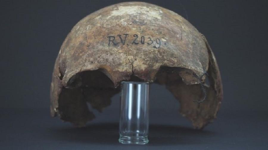 O caçador-coletor que tinha a praga era um homem de 20 a 30 anos - Dominik Goldner/BGAEU