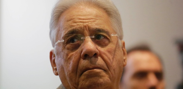 O ex-presidente Fernando Henrique Cardoso, que participou de evento em SP