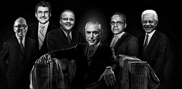 Resultado de imagem para Geddel Vieira Lima , Moreira Franco e michel temer