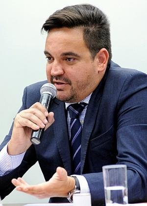 Empresário Taiguara Rodrigues dos Santos depõe em audiência pública em outubro de 2015