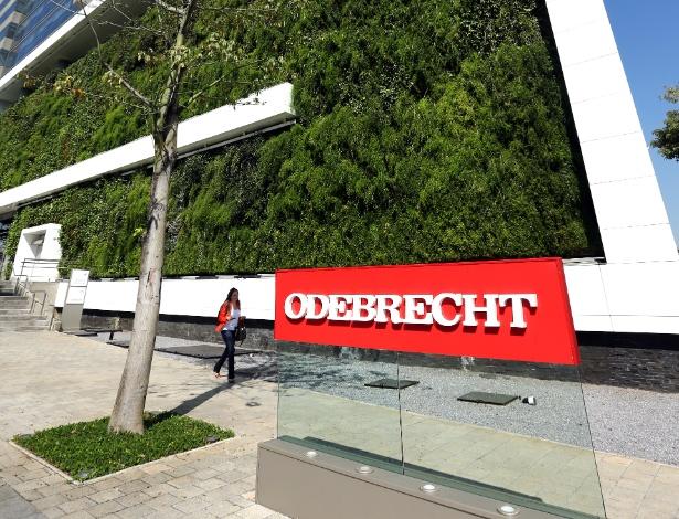 Fachada da Odebrecht, em São Paulo