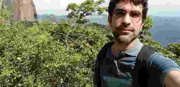 Foto tirada com câmera frontal do LG K10 Novo (modo normal) - Márcio Padrão/UOL - Márcio Padrão/UOL