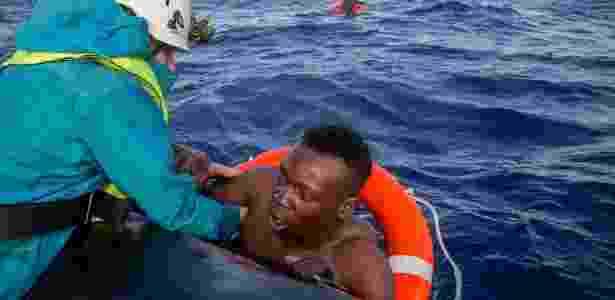 resgate1 - Alessio Paduano/AFP - Alessio Paduano/AFP