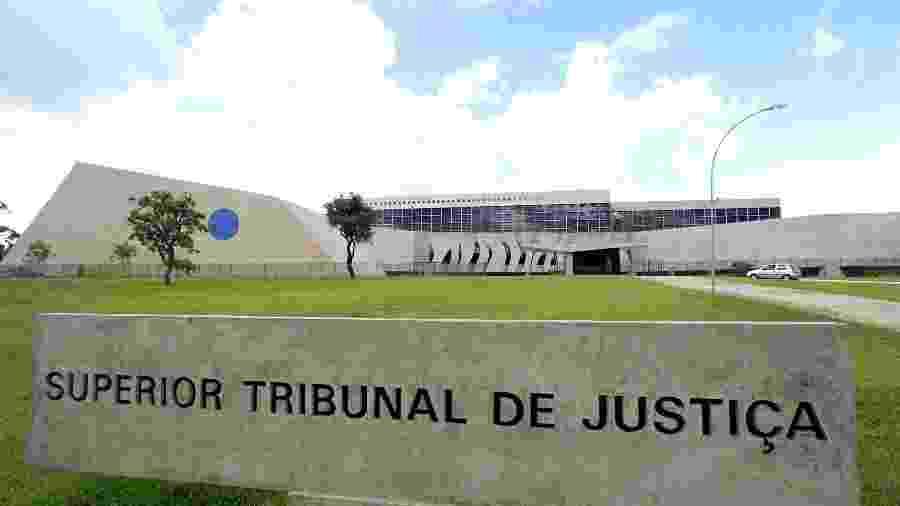 Fachada da sede do STJ (Supremo Tribunal da Justiça), em Brasília (DF) - Alan Marques/Folhapress