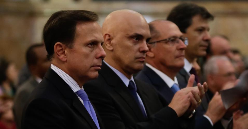 """16.dez.2016 - """"Não estou preocupado com a próxima eleição, estou preocupado com a administração, com a gestão da Prefeitura de São Paulo. São quatro anos de desafio e eu não sou candidato a reeleição"""""""