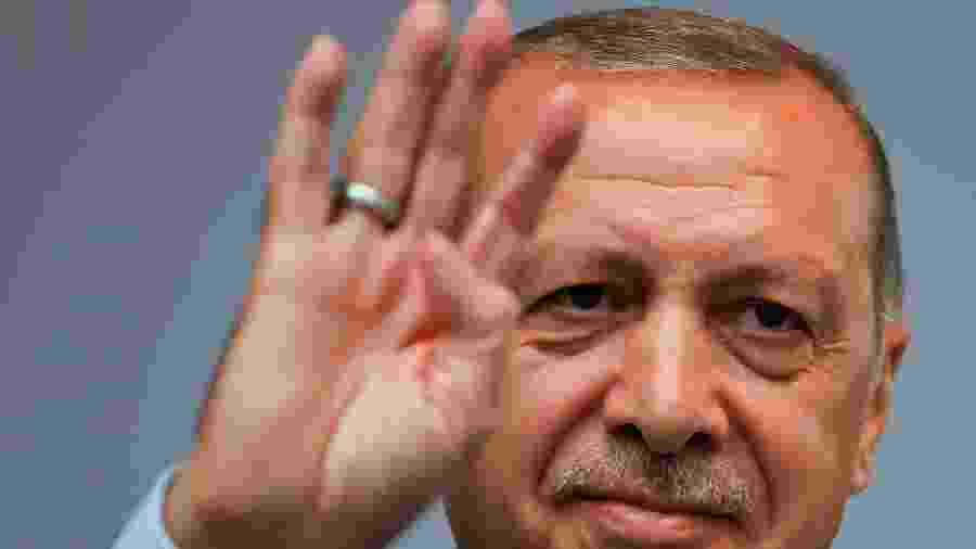 23.jun.2018 - Presidente da Turquia, Recep Tayyip Erdogan - Alkis Konstantinidis/Reuters